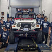 [pics & vid] Today! SEMA High School Jeep Builds and Auction