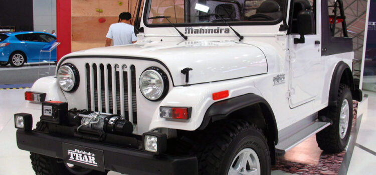 News! 2020 Mahindra Thar Spy Shots and Update