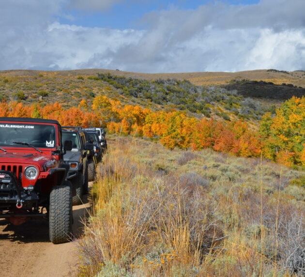 [pics] Jeeping the Fall Colors of Eastern Sierra Nevada