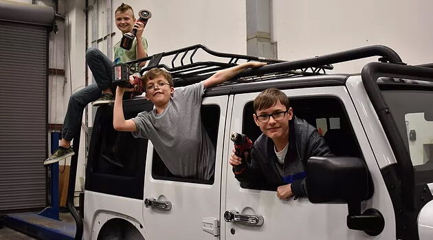 Shocking! Fundraising Jeep and Explorer Stolen from Austin Hatcher Foundation for Kids