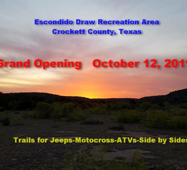 [pics] New OHV Park in West Texas
