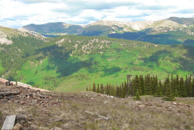 Del Albright photo of beautiful mountain scenery.
