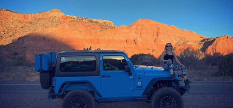 [catie's corner] Exploring Palo Duro Canyon In My Jeep