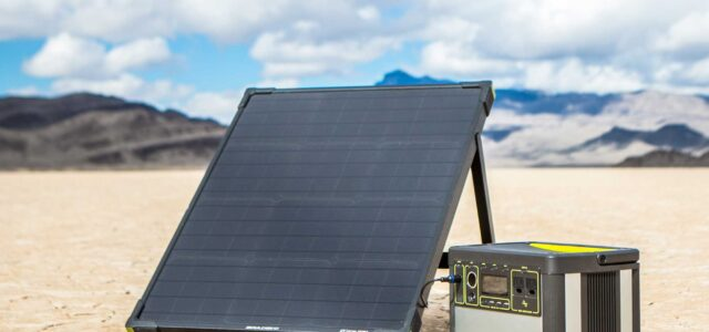 Solar Power System for Off-Road Use!
