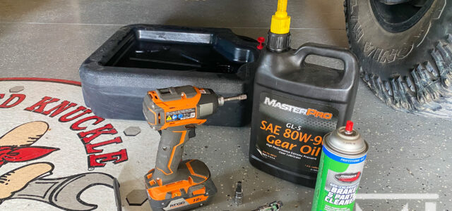 [pics & vid] Quick Tech – Change that Differential Oil!