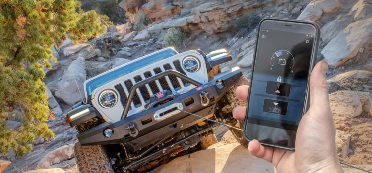 Warn Industries' Lets Users Operate Their Winch With a Smart Phone