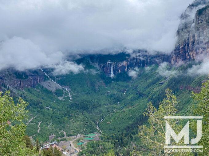 View of Black Bear Pass