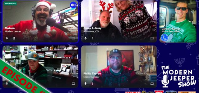 The ModernJeeper Show, Ep. 97 – Ugly Sweaters, Christmas Booze, and Lousy Singing – It's Christmas!