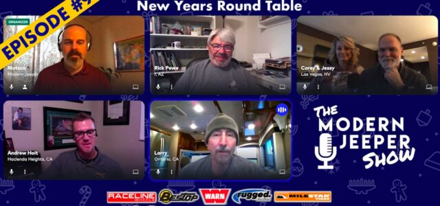 The ModernJeeper Show, Ep. 98 – The New Year's Roundtable with Pewe, McRae & Hoit